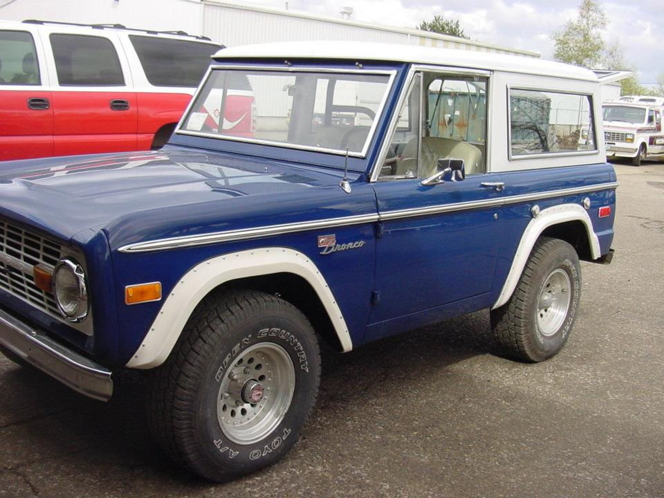 B&B Auto Repair - Blue Bronco Restoration Early Ford